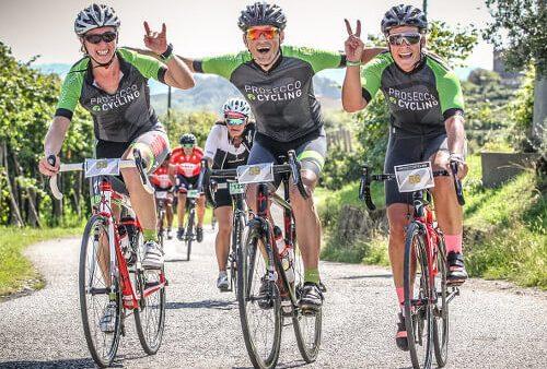 Prosecco Cycling 2021 Valdobbiadene logo